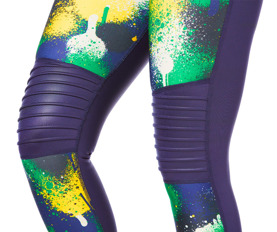 Zumba Must Move Ankle Leggings - Night Sky Z1B00926