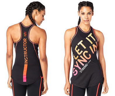 Strong By Zumba  Instructor Tight Tank - Back to Black Z1S00046