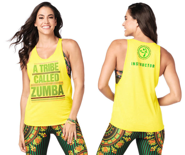 Zumba A Tribe Called Zumba Instructor Tank - Sunrays Z1T01941