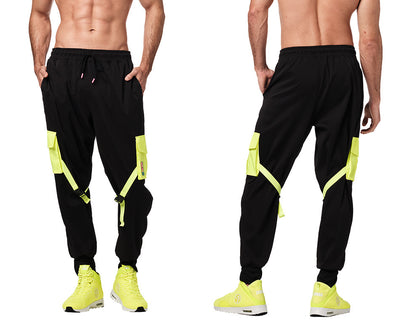 Zumba Bold Is The New Basic Men's Cargo Pants - Bold Black Z2B00264