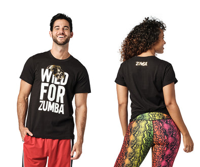 Zumba Wild For Zumba Tee - Bold Black Z3T00327