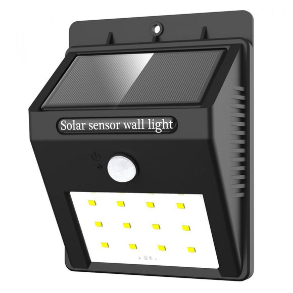 Waterproof IP64 Solar wall lights with motion detector