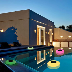 Swimming Pool Lights Solar Floating Light with Multi-Color LED Waterproof Outdoor Garden Lights