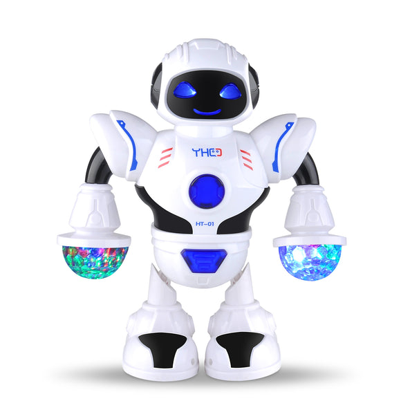 Dancing Robot for Kids with LED Colorful Light and Music