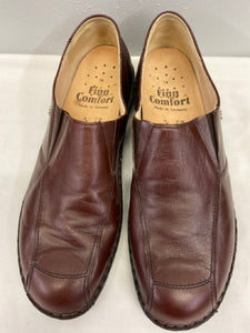 Finn Comfort Burgundy Leather Loafer Style Size 11 UK or 11.5 US  Mens New