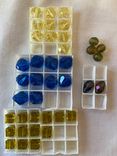 Load image into Gallery viewer, Vintage Swarovski Crystal Beads Mixed Assorted Lot #15