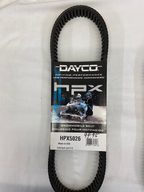 Dayco hpx Snowmobile Belt New HPX5026