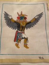 Load image into Gallery viewer, Needlepoint Kit Handpainted Eagle Dancer Tish