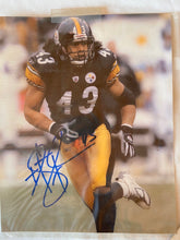 Load image into Gallery viewer, Terry Bradshaw & Troy Polamalu Pittsburgh Steelers Signed Autograph  Pictures