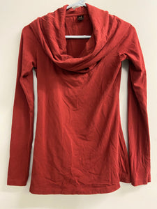 Peruvian Connection Oversize Cowl Neck Sz S Top Pima Cotton Blend