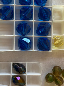 Vintage Swarovski Crystal Beads Mixed Assorted Lot #15