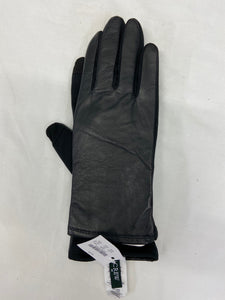 J. Crew Leather Polyester Acrylic Tech Womens Gloves NWT Size L