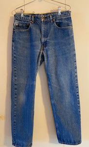Levi Straus 34x30 Label Measure 32x28 Jeans Classic Red Tab