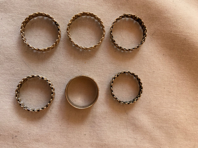 Sterling Silver 8 g  Mexico Ring Lot of