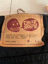 Load image into Gallery viewer, Cheap Monday Black Cotton Jeans 36x32""