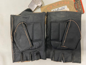 River Road Buster Vintage Shorty Gloves Men's Medium Brown Leather NWT 091828