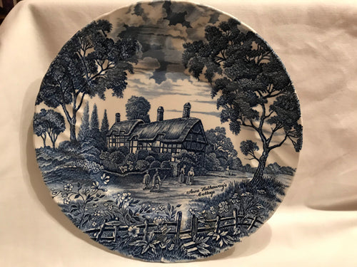 Anne Hathaway's Cottage Plate Shakespeare Country Royal Essex Ironstone Plate