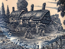 Load image into Gallery viewer, Anne Hathaway's Cottage Plate Shakespeare Country Royal Essex Ironstone Plate