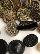Load image into Gallery viewer, Antique Buttons late 1800's-early 1900's Lot some Victorian