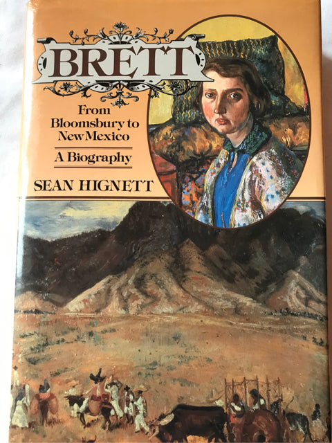 Brett From Bloomsbury to New Mexico Hignett Hardcover Biography
