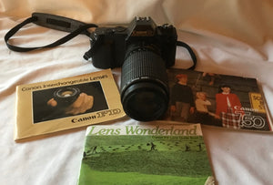 Canon T50 SLR 35 mm Camera Vintage