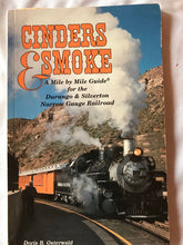Load image into Gallery viewer, Cinders & Smoke Mile By Mile Guide Durango & Silverton Railroads PB