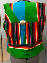 Load image into Gallery viewer, Custom made by Suzanne Heald Blanket Vest