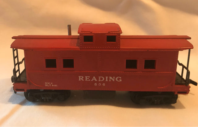Gilbert American Flyer HO Reading #506 Caboose