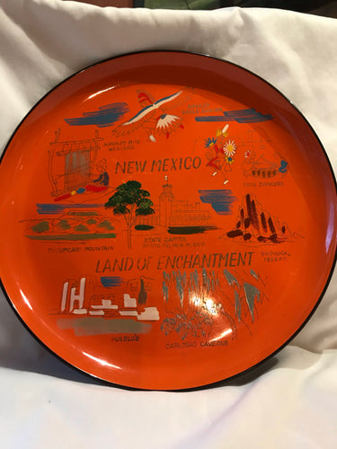 New Mexico Land of Enchantment Decorative Souvenir Plate