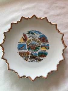 New Mexico Souvenir Plate Ceramic