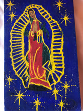 Load image into Gallery viewer, Retablo Virgin Mary of Guadalupe Taos NM