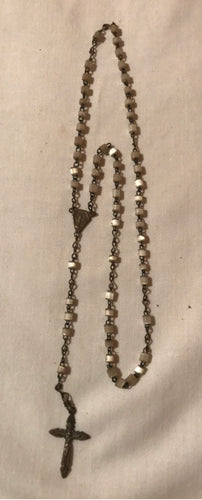 Rosary Vintage Mother of Pearl