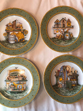 Load image into Gallery viewer, Sakura Garden Vignette Debbie Mumm set of 4 Salad Plates