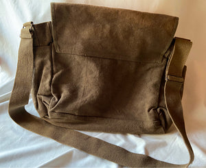 TaosEdge Canvas Messenger Bag Snake Heart by Chipper Thompson NWT