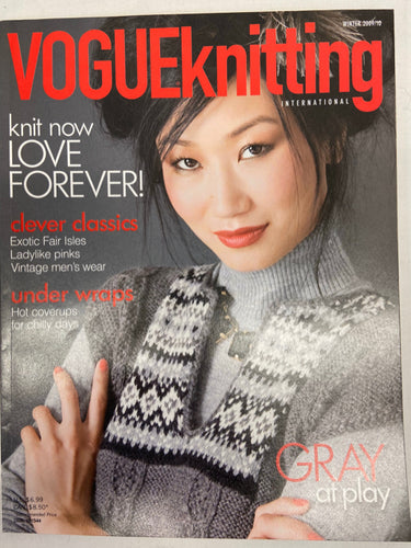 Vogue Knittingg Magazine Winter 2009/10