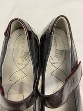 Load image into Gallery viewer, Mary Jane Style Burgundy Patent Leather Womens Shoes UK 4.5 US 7 New