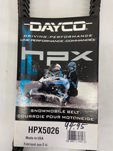 Load image into Gallery viewer, Dayco hpx Snowmobile Belt New HPX5026