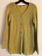 Load image into Gallery viewer, Peruvian Connection Size S Knit Cardigan Pima Cotton