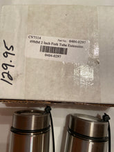 Load image into Gallery viewer, Cycle Visions 49mm 2 inch Fork Tube Extension CV7114, 0404-0297 NIB