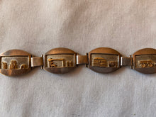 Load image into Gallery viewer, Sterling and 14K Gold Storyteller Linked Bracelet