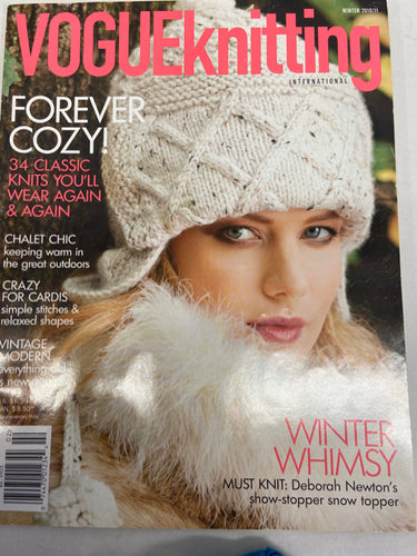 Vogue Knitting Magazine Winter 2010/11