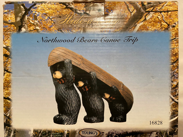 Northwood Bears Canoe Trip Hide-a-way Collection 16828 Young's