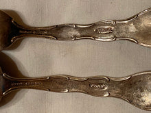 Load image into Gallery viewer, Baby Silverware Set Spoon Fork Sterling Silver Gorham Rondo Kris