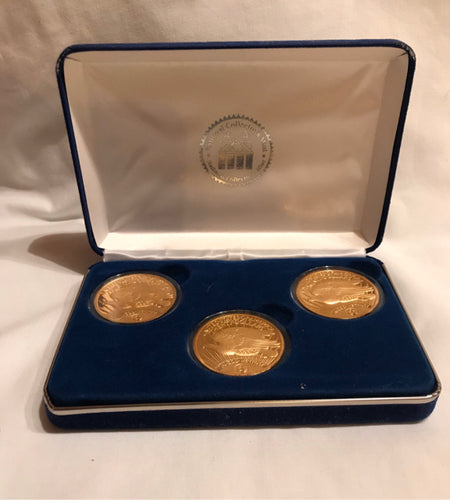 $20 Gold Double Eagle Tribute Proof Set 1907 & 2 1933