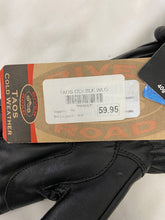 Load image into Gallery viewer, River Road Taos Womens Riding Gloves Sz L Black Leather NWT 091601
