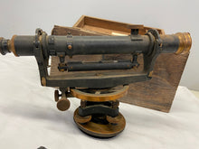 Load image into Gallery viewer, Keuffel & Esser Co NY Antique Surveyor Transit in Wood Box Serial #54549