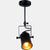 Suspension LOMMA luminaire industrielle design