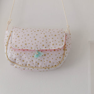 Golden stars bag