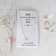 Load image into Gallery viewer, MOM crown necklace