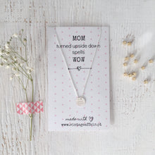 Load image into Gallery viewer, Mom power necklace